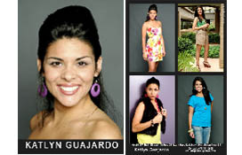 Hispanic Model Comp Card Layout